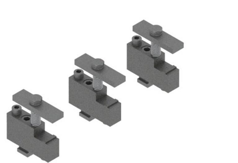 Comec RTV590 - Pressure plate clamping device