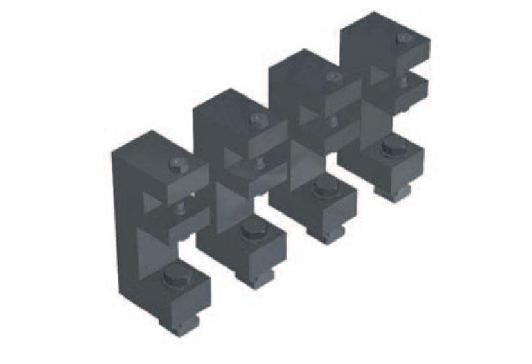 Comec - RTV580 Pressure plate clamping device