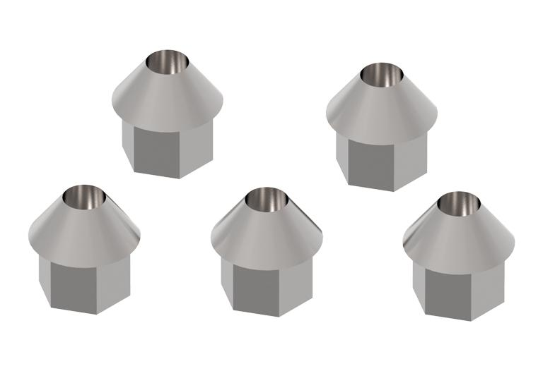 Comec Set of conical nuts for Ford rims