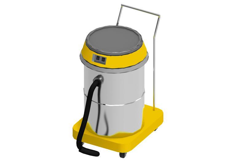 COMEC TCE050 Heavy duty dust vacuum unit