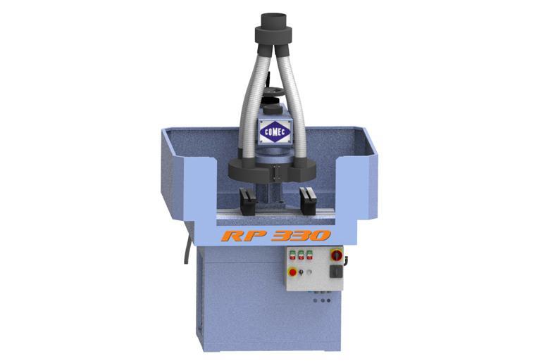 Comec RP330Z - Spianatrice per campionature di cemento