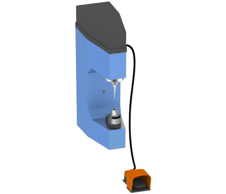 Electro-hydraulic riveting machine CC300-E for Brake Shoe Comec