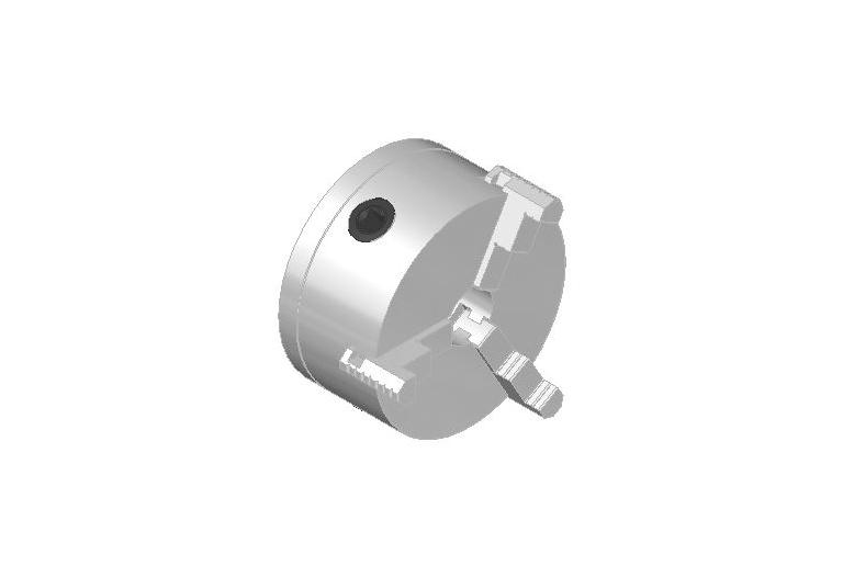 Ø 160 mm self-Centering Chuck with adapter plate for dia.30 mm shaft