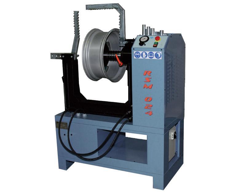 Rim straightening machine RSM024 Comec