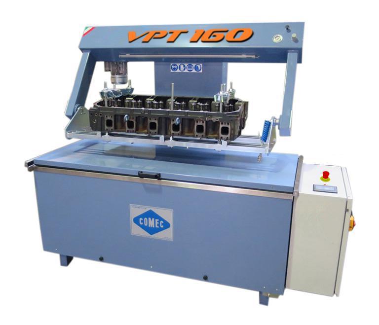 Comec VPT160 Pressure tester for cylinder heads and blocks Comec