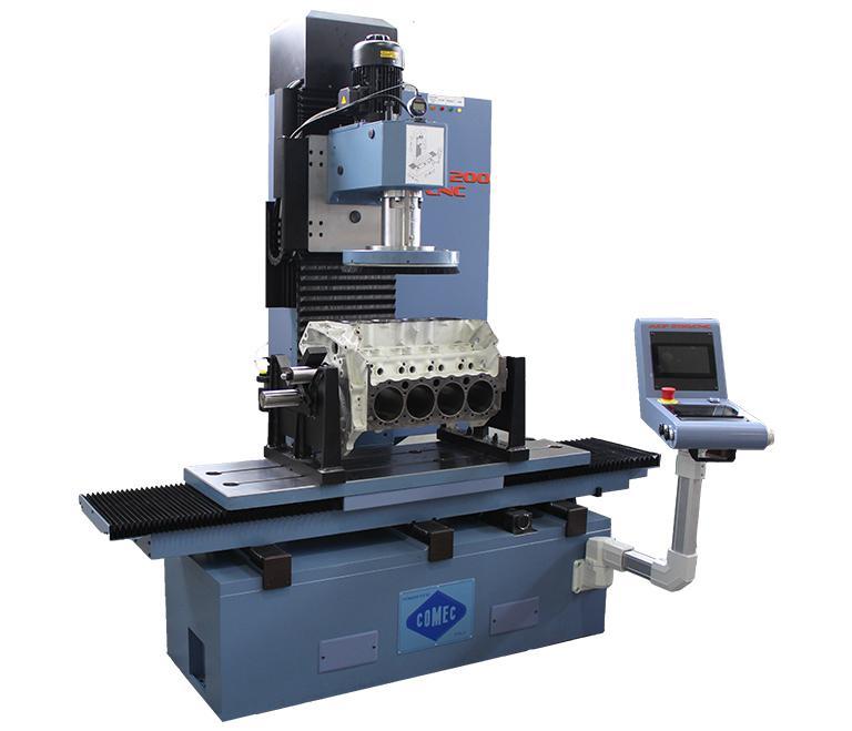 CNC cylinder boring - resurfacing machines - ENGINE LINE | COMEC